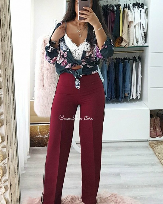 Cannes Trousers Bordeaux