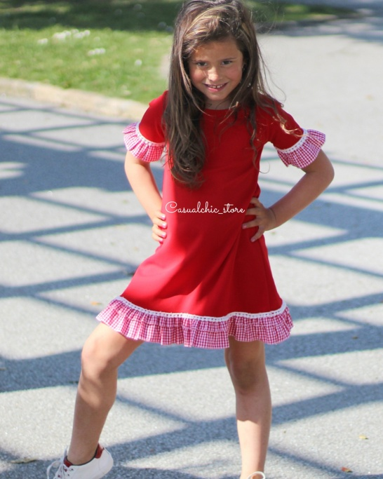 Vestido Dora Mini Red