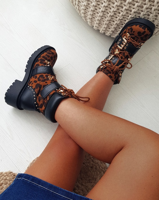 Bota rockstar tigress