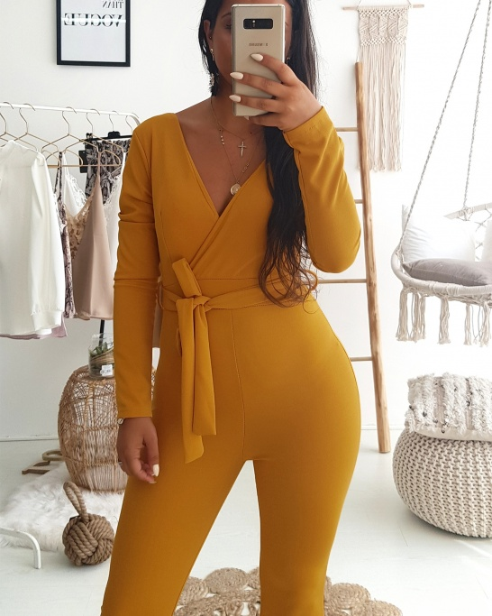 Yellow Nickie Jumpsuit
