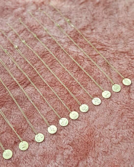 Libra Necklace (Stainless Steel)