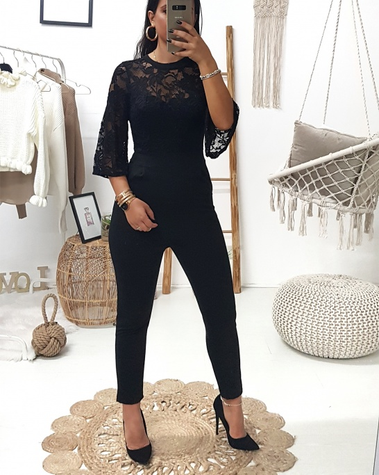 Bárbara Jumpsuit Black