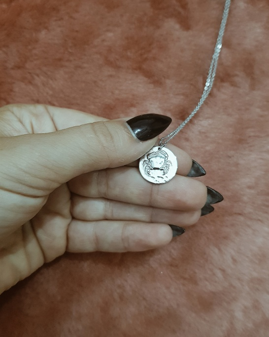 Cancer Necklace (Stainless Steel)