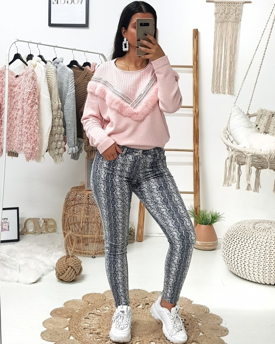 Pushup Snake Trousers