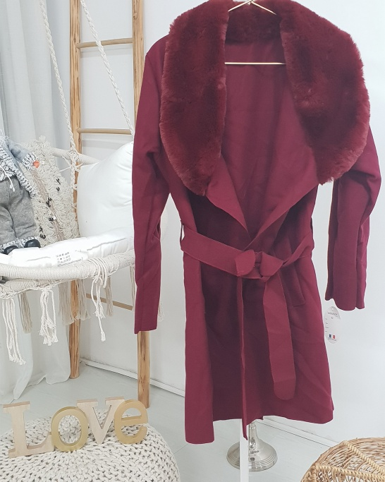 Robe Manteau Fur