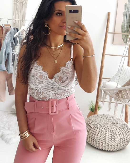 TROUSERS 'MADMOISELLE' PINK