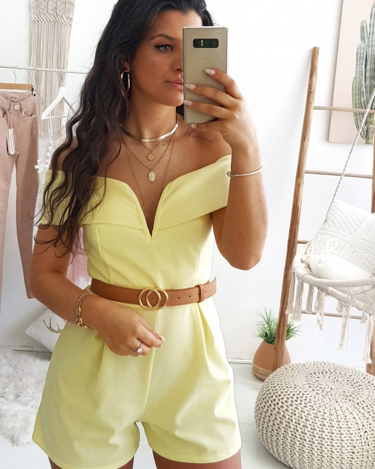 PLAYSUIT 'ESTHER' YELLOW