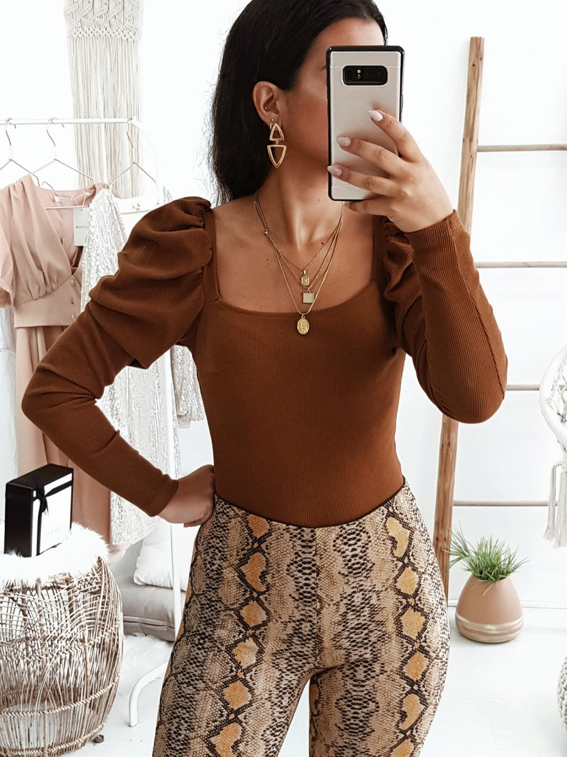 CAMISOLA 'LUST FOR LIFE' CAMEL