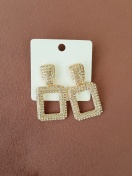 WANNA GO OUT EARRINGS IN ROSE GOLD