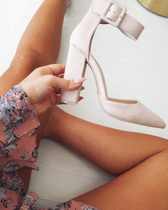 SAPATO 'BE SOFT & KIND' IN NUDE