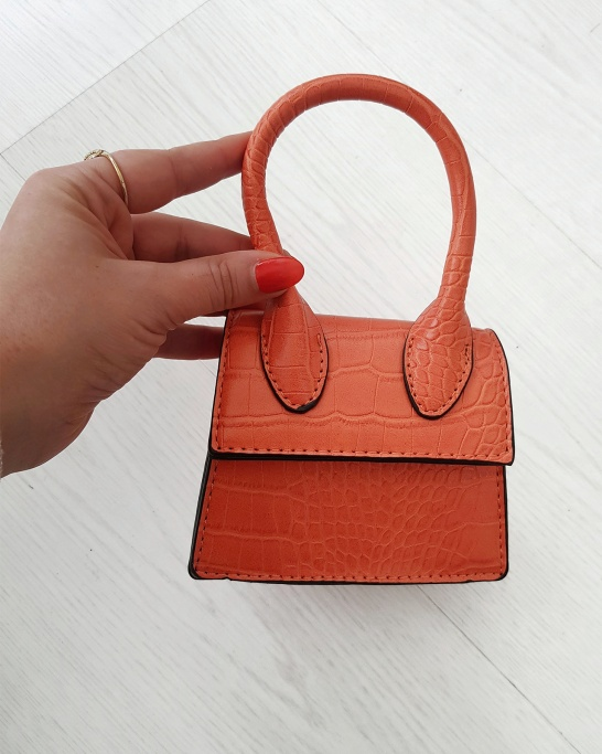 GOOD ENERGY BAG IN ORANGE