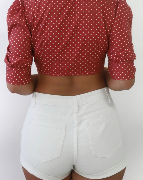 SHORTS 'EASTCOST' IN WHITE