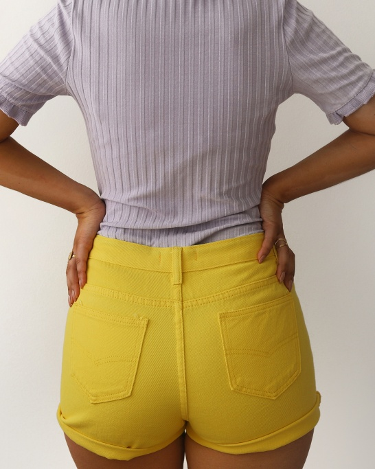 SHORTS 'EASTCOST' IN YELLOW