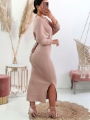 VESTIDO 'STAY CLOSE' IN BEIGE