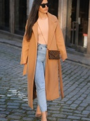 OVERCOAT 'LA' IN CAMEL