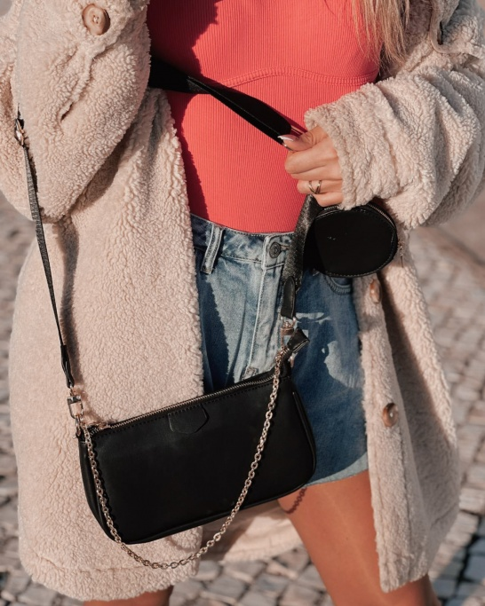 RE-EDITION' BAG IN BLACK