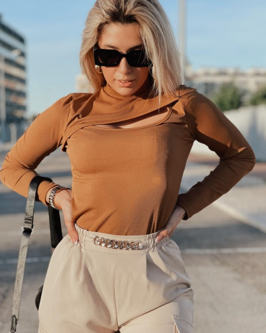 TOP 'DOLCE' IN CAMEL