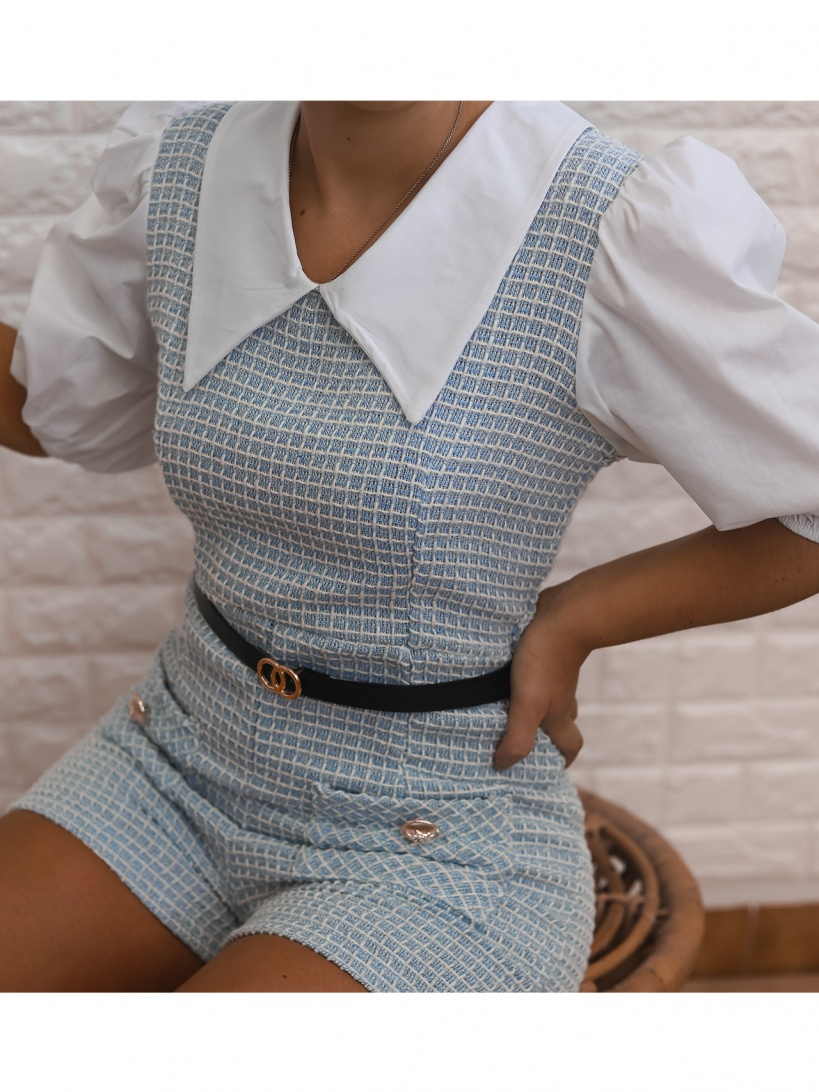 PLAYSUIT 'NESSY' IN BLUE