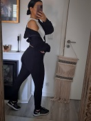TRACKSUIT 'CAMILA' IN BLACK