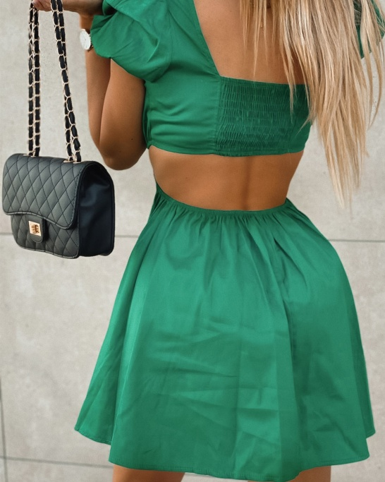 VESTIDO 'NEUZA' IN GREEN