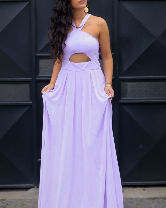 KTL - DRESS 'CAMILLE' IN LILAC