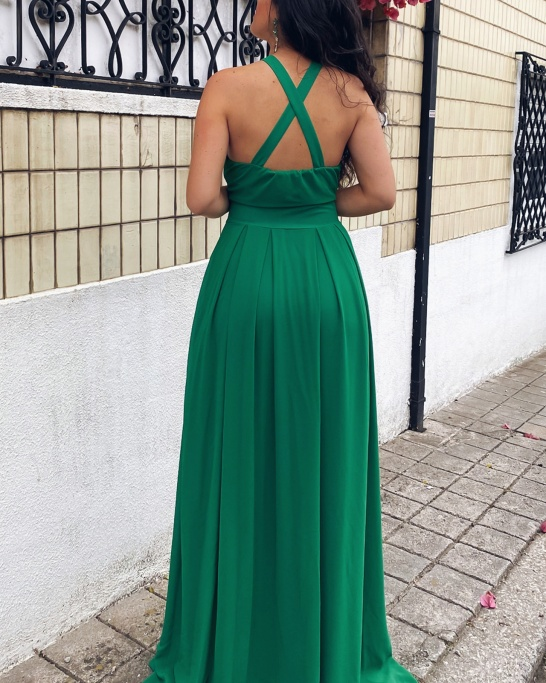 KTL - DRESS 'CAMILLE' IN GREEN